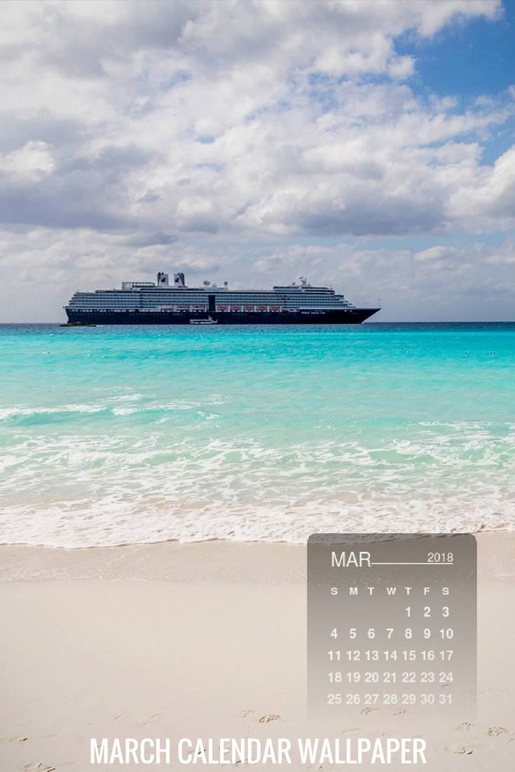Check Out And Download Our Calendar Wallpaper Of The Month For Free Cruise Travel Calendar Wallpapers Iphonewallpapers Cruise Critic Cruise Ship Cruise