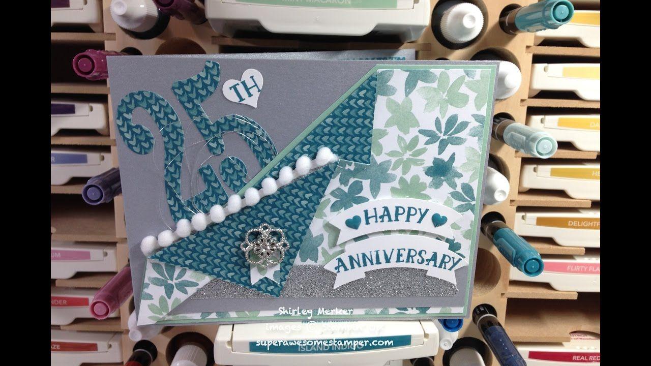Th wedding anniversary card wowsa shirley merker