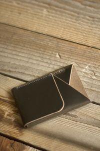 Inkleaf's Double-Cross Wallet (Leaf)