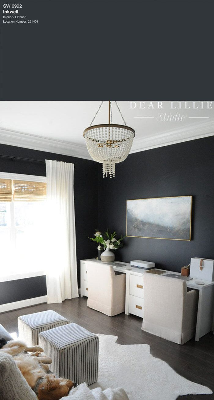7 Best Black Paint Colors By Sherwin-Williams — Tag ...