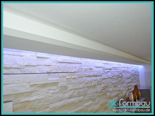 lichtvoute mit schattenfuge aus gipskarton gipskarton beleuchtung indirekte beleuchtung. Black Bedroom Furniture Sets. Home Design Ideas