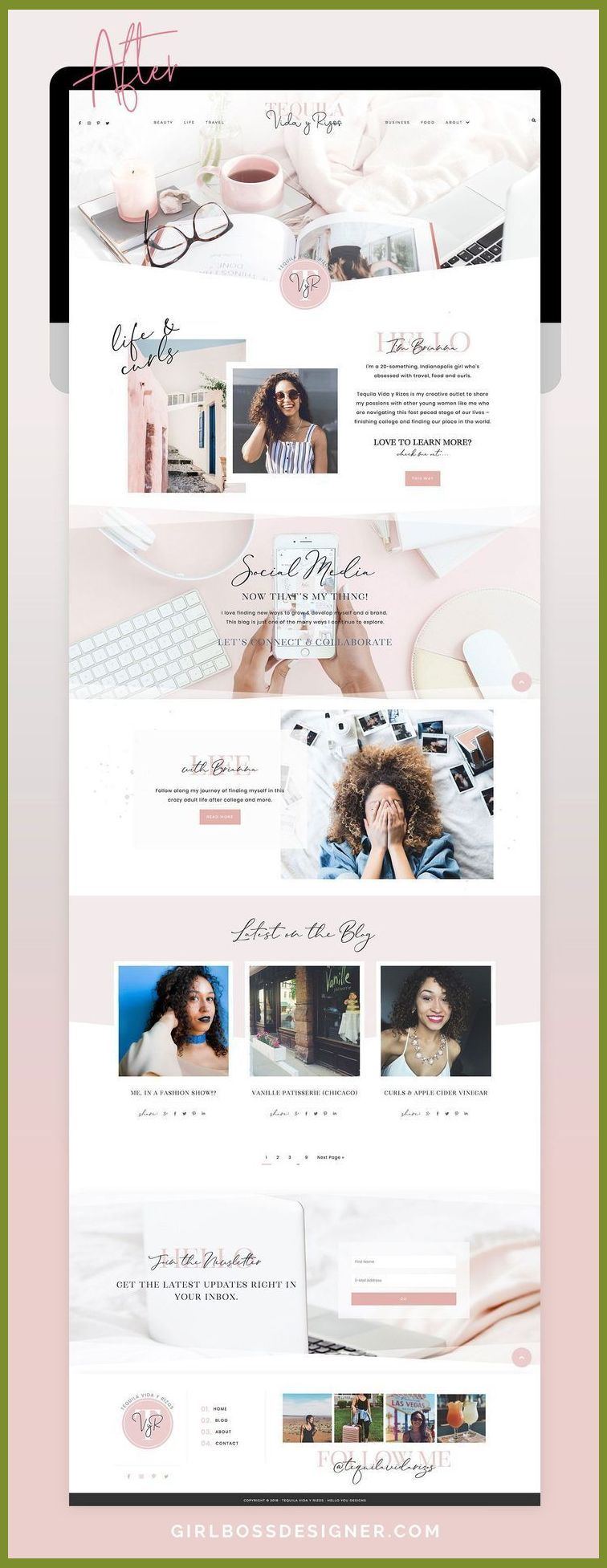 A Compilation Of 9 Of The Best Site Layout Examples And Concepts In 2018 These Websites Are Al In 2020 Wordpress Blog Design Creative Web Design Simple Website Design