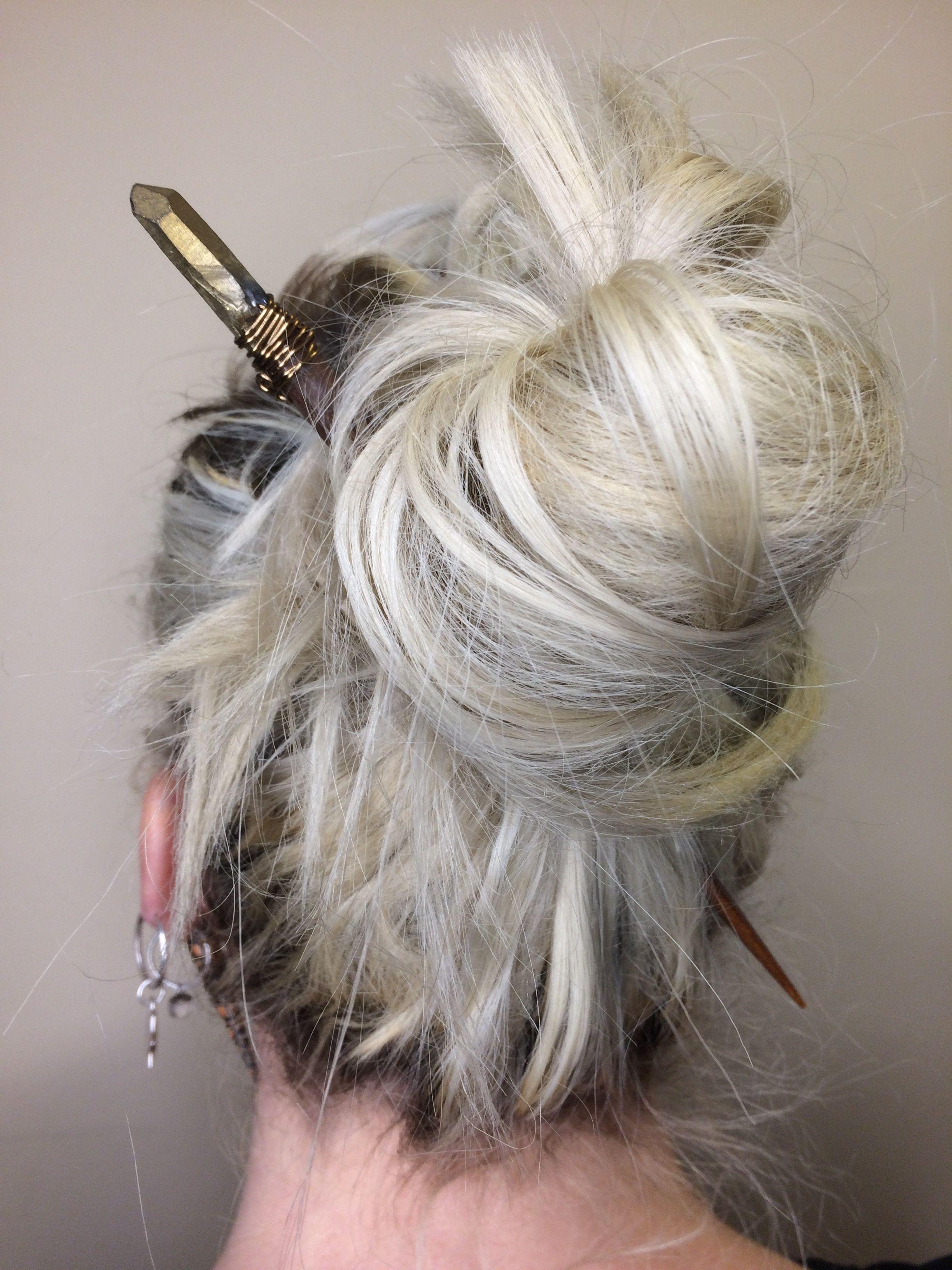 Hair Chopstick Accessories Mountain Mystic Gems
