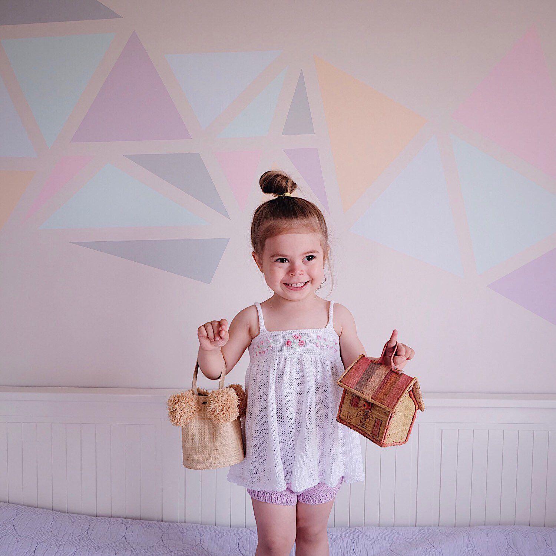 Baby Girl Knit Dress, Flower Embroidered Summer Dress, 1st
