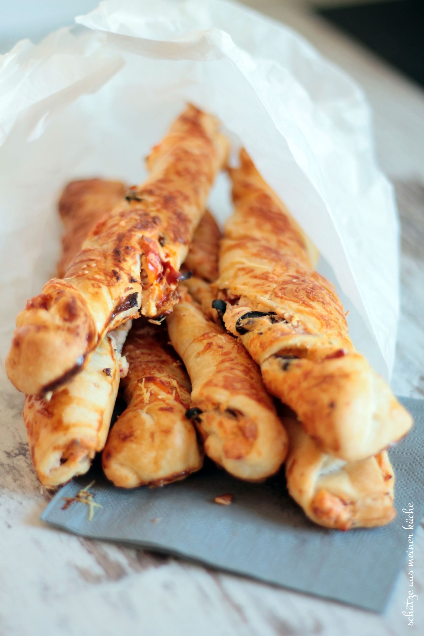 Photo of Greek breadsticks with feta and half-dried tomatoes – treasures from my kitchen