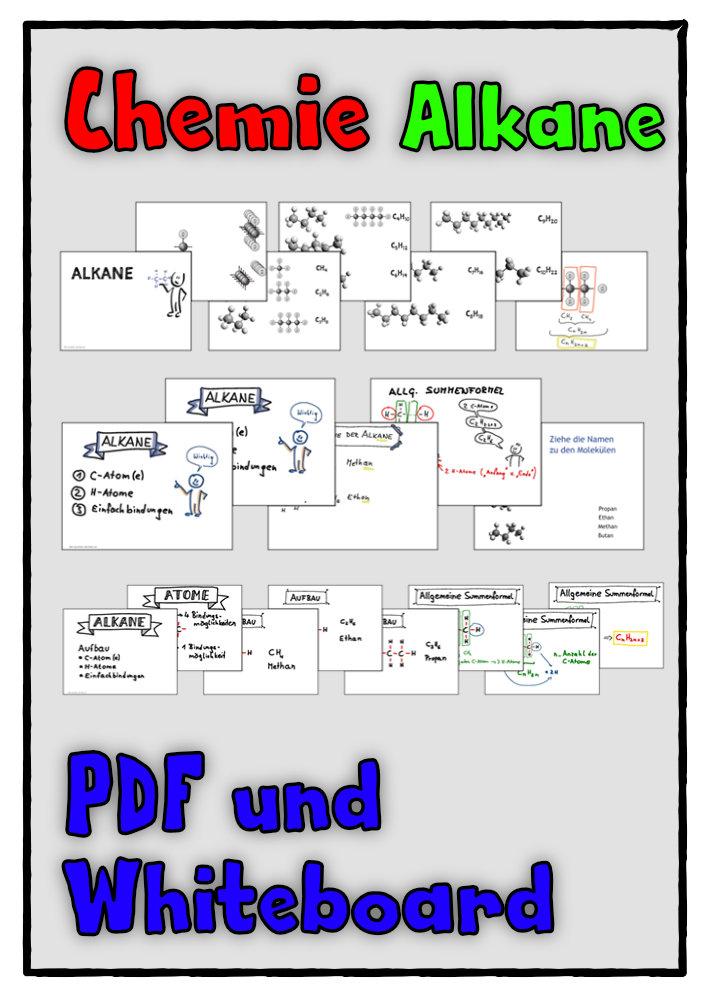 Alkane Whiteboard Dateien Unterrichtsmaterial Im Fach Chemie Unterrichtsmaterial Chemieunterricht Lernen