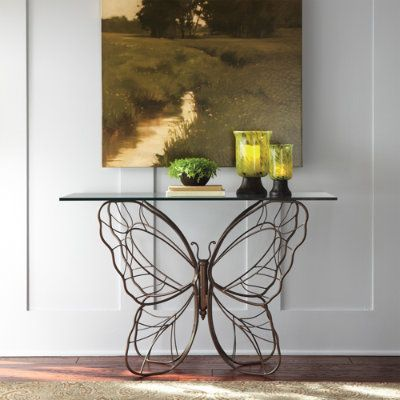 Captivating Butterfly · Monarch Butterfly Console Table.