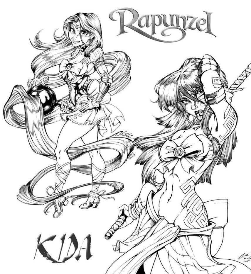 Rapunzel fan art | ... .com - Rapunzel Sexy Fan Dibujo - Dibujos de ...