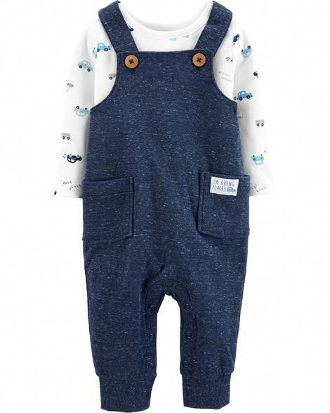 7b4616dfd4e47 2-Piece Tee & Overalls Set from Carters.com. Shop clothing & accessories  from a trusted name in kids, toddlers, and baby clothes.