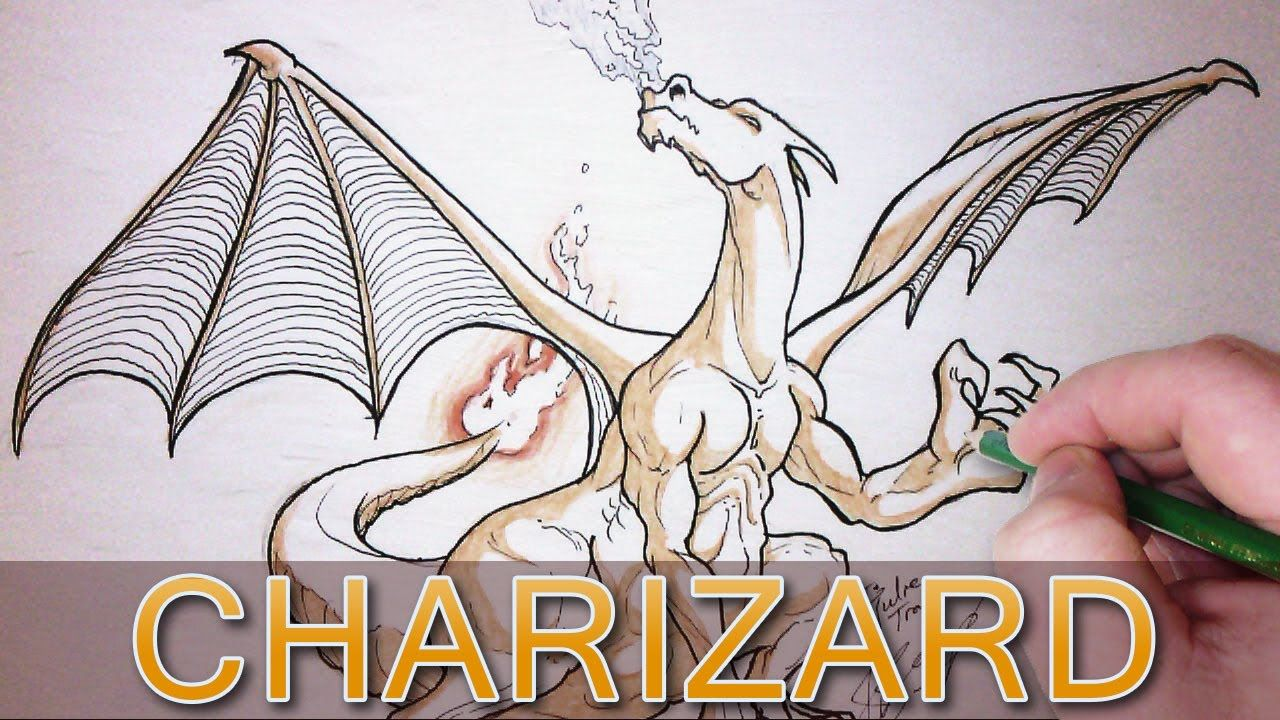 Let's Draw Charizard