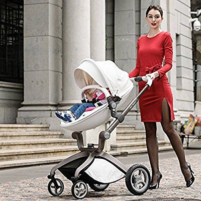 Hot Mom 3 in 1 Travel System and Bassinet Baby Stroller 91b37256af