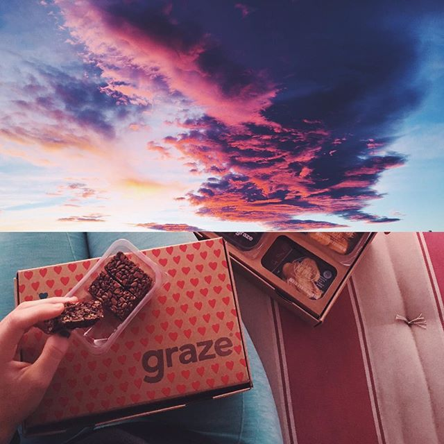 Summer is all about sitting on the porch and watching the sun go down with a tea and graze snacks in hand.