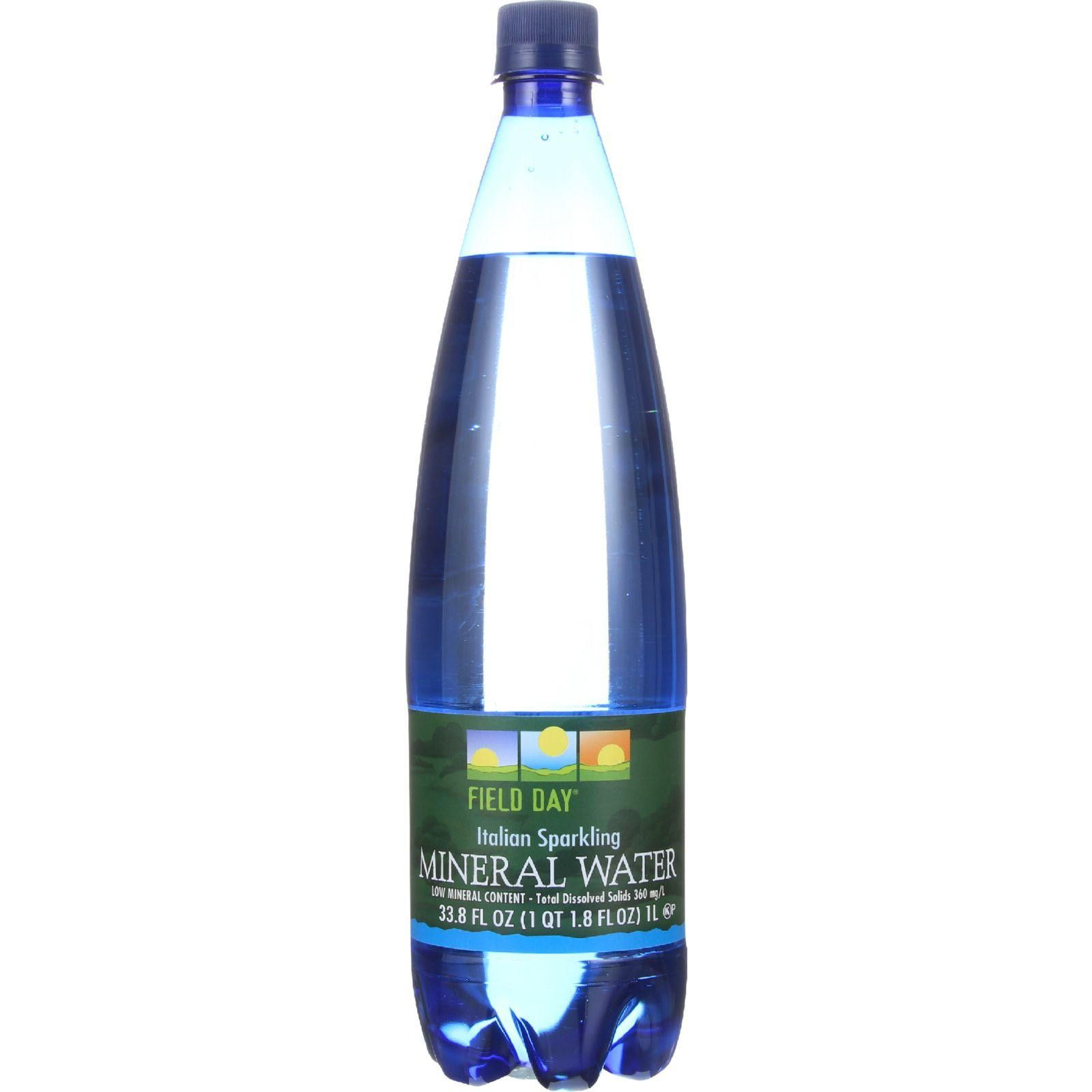 Field day mineral water italian sparkling 1 l case