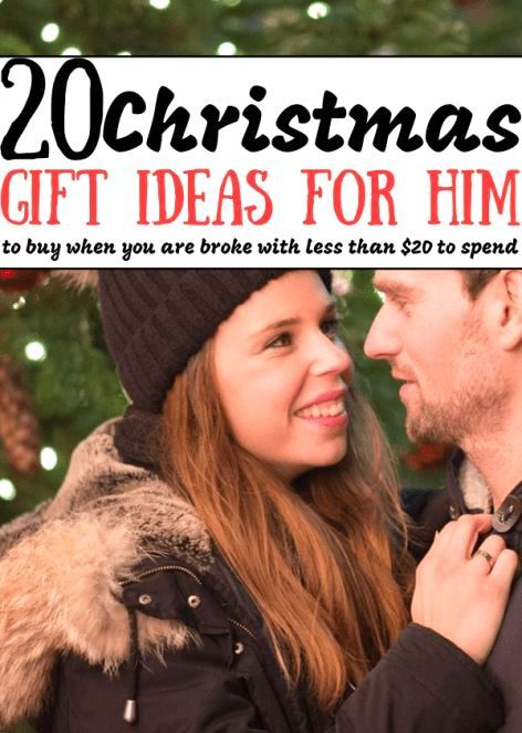 Cute Small Gifts For Boyfriend Under $20  #christmasgiftsforboyfriend