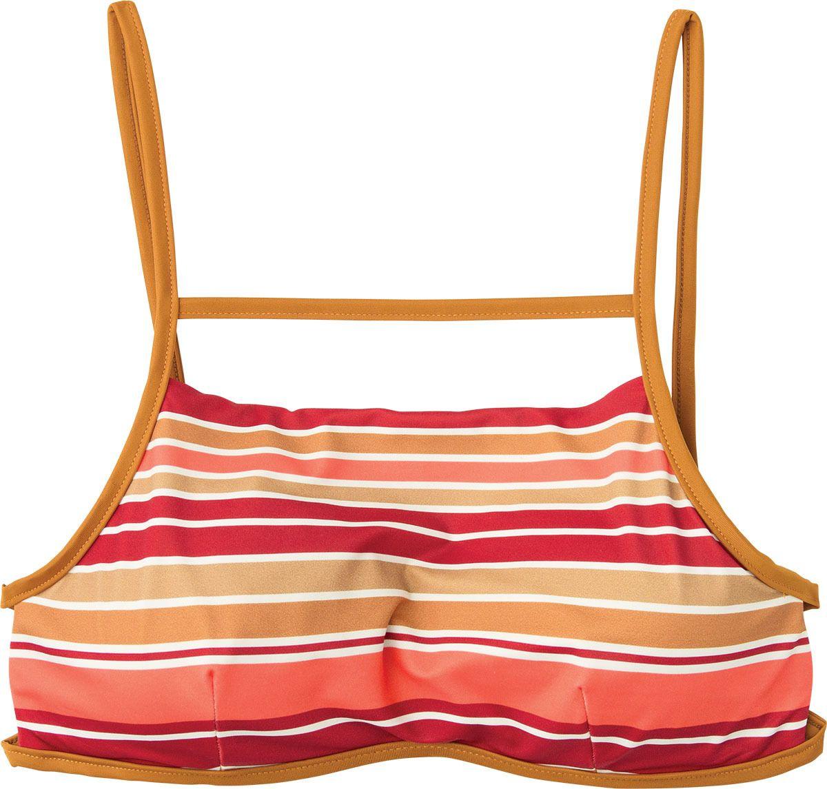7bd178aa9c920 Stripe Type Bralette Bikini Top is a swim bikini top