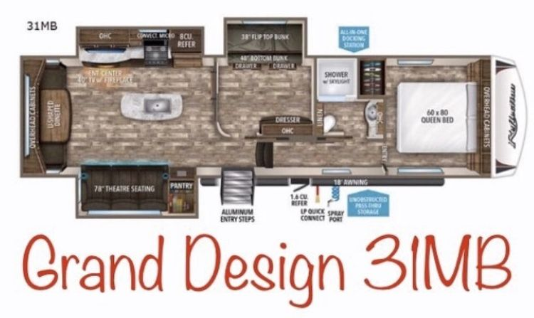 Youtube Video Of The Grand Design Reflection 31mb Mid Bunk