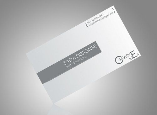 Bussines CardS Template White Templates Pinterest Template - White business card template