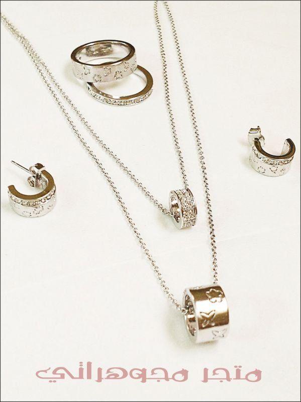طقم ماركة لويس فيتون Arrow Necklace Gold Necklace Jewelry