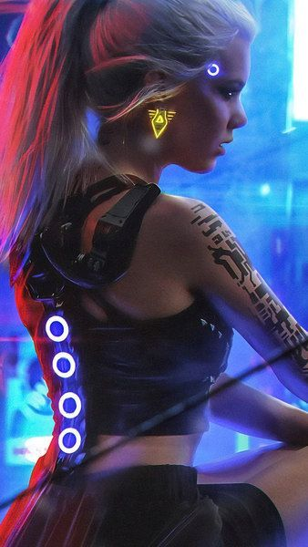 Cyberpunk 2077 Girl 4k 3840x2160 1920x1080 2160x3840 1080x1920 Wallpaper 1080x1920 1920x1080 2160x3 Cyberpunk 2077 Retrato De Belleza Moda Cyberpunk