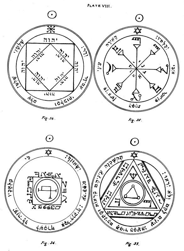 The Key of Solomon: Plates: Plate VIII | Solomon | Alchemy