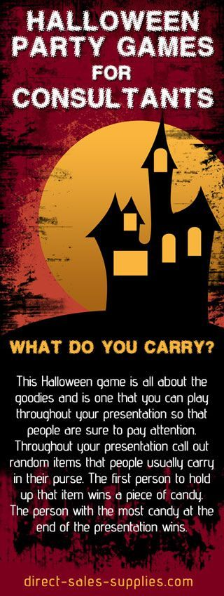 Halloween Games for Adults Games for Halloween Parties: | scentsy ...