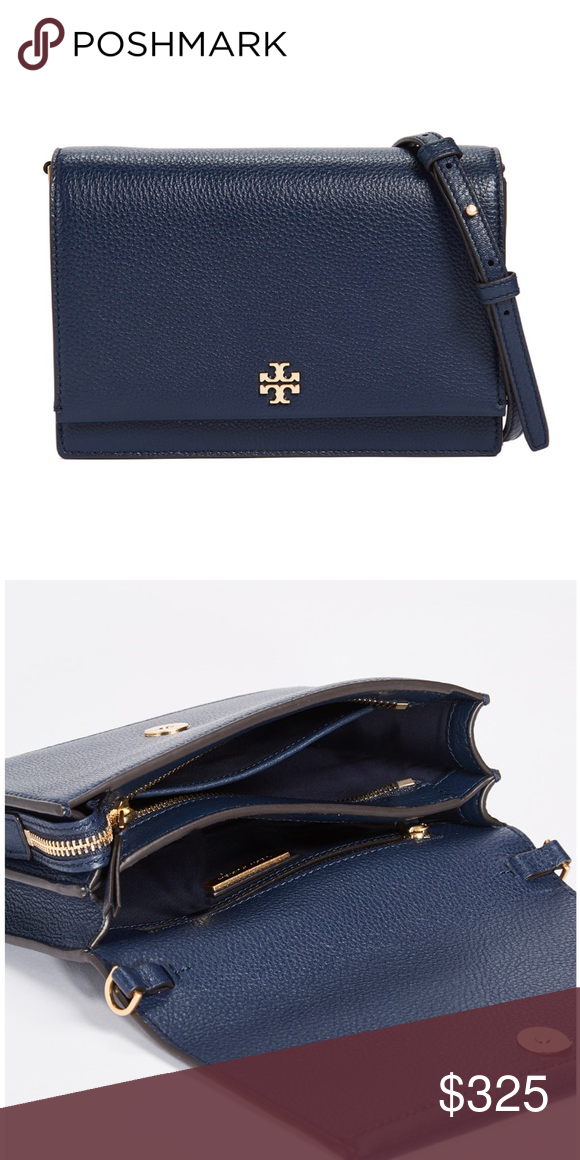 b1676644969 Tory Burch Georgia Pebbled Leather Shoulder Bag New with tag. Never used.  In excellent