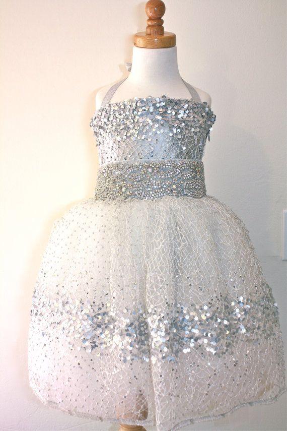512d2559 Silver Sparkle Dress, every little girl loves sparkles! | cute ...