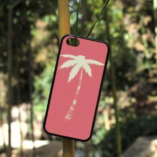 ピンク パームツリー iphoneケー...