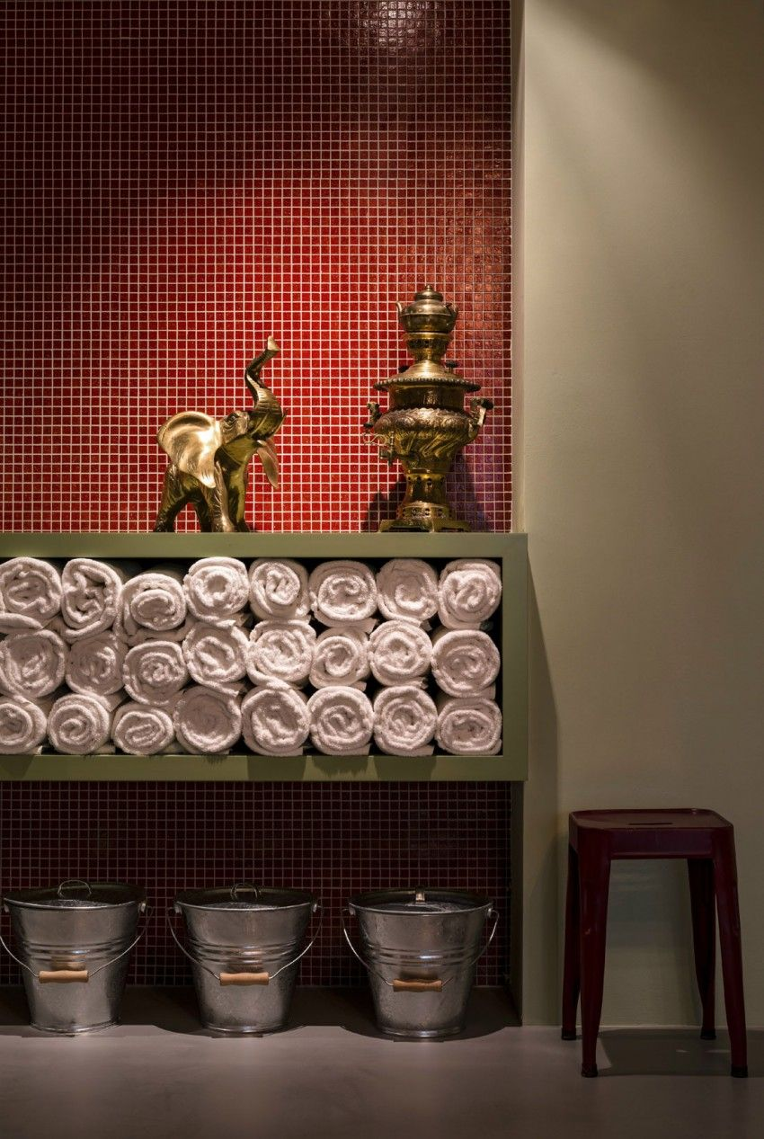 wandgestaltung mit tapeten zirkus, 25hours hotel vienna by dreimeta | pinterest | zirkus, Design ideen