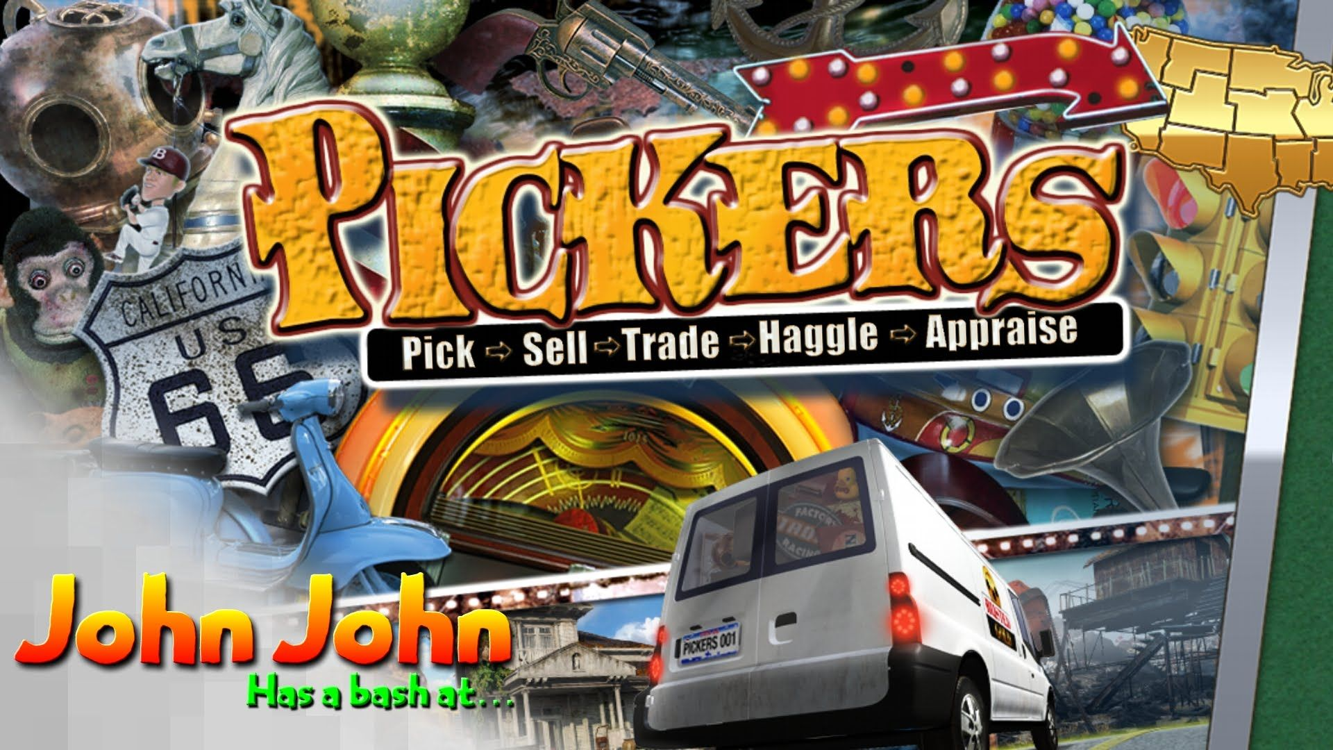 Pickers Its Like A Simulated Bargain Hunt But Without The Deformed Orange Potato Hosting It Bargain Hunt Little Games Pickers