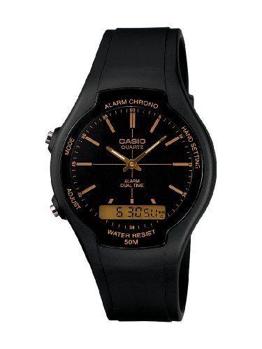 5beefb0559a0 CASIO AW90H9EVEF - Reloj unisex de cuarzo