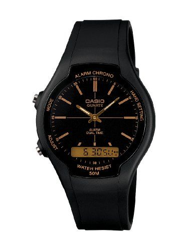 3fb9a26f6350 CASIO AW90H9EVEF - Reloj unisex de cuarzo