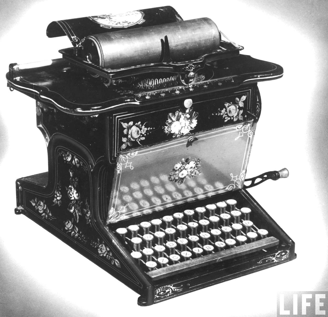 typewriter Charles Thurber in 1843. This was the first