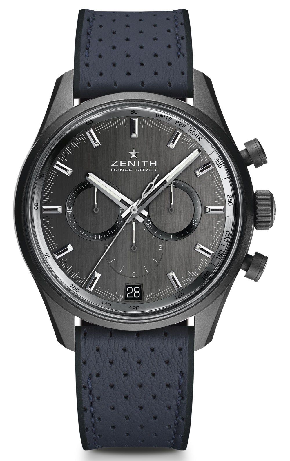 Zenith El Primero Range Rover Watches Debut Official Relationship With Land  Rover Watch Releases 8f67ec91637f