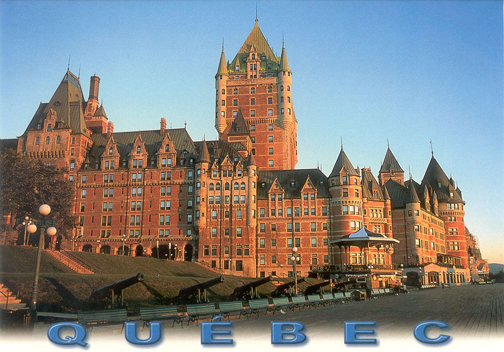 Quebec City Postcards