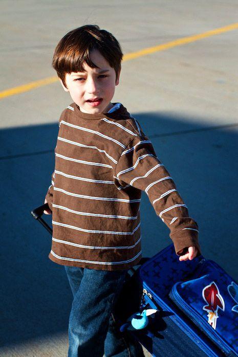 Little Boy Travel On Ship Royalty Free Stock Photo - Image ...  Little Boy Traveling