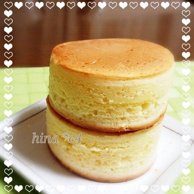 ケーキ レシピ パン ふわふわ