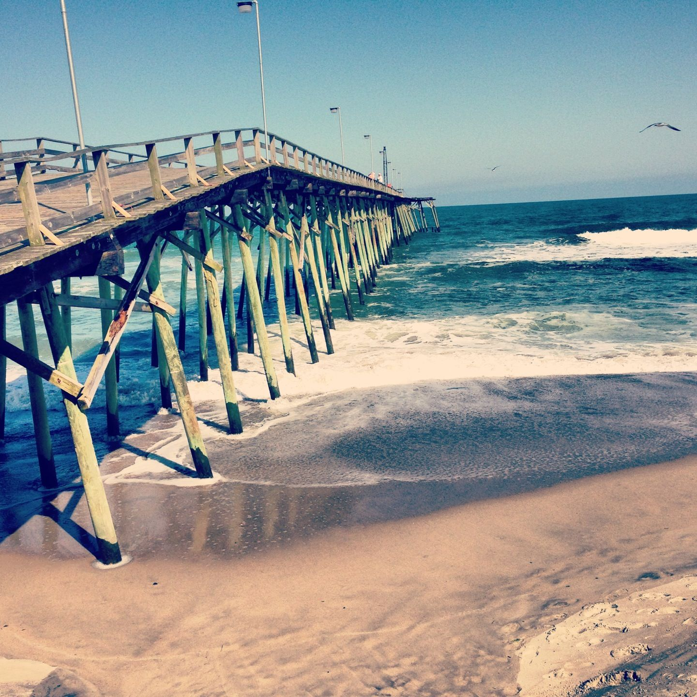 Kure Beach Fishing Pier Places At