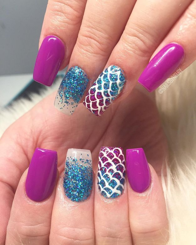 17 Design Ideas For Long And Short Square Nails | Short