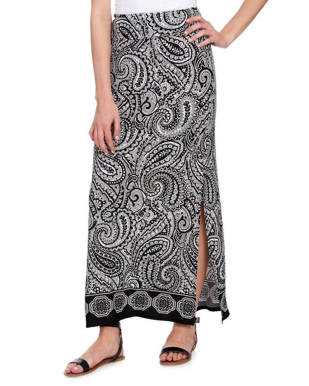Puffed Paisley Border Print Maxi Skirt Clearance Stein Mart Printed Maxi Skirts Maxi Skirt Printed Maxi [ 1250 x 1000 Pixel ]