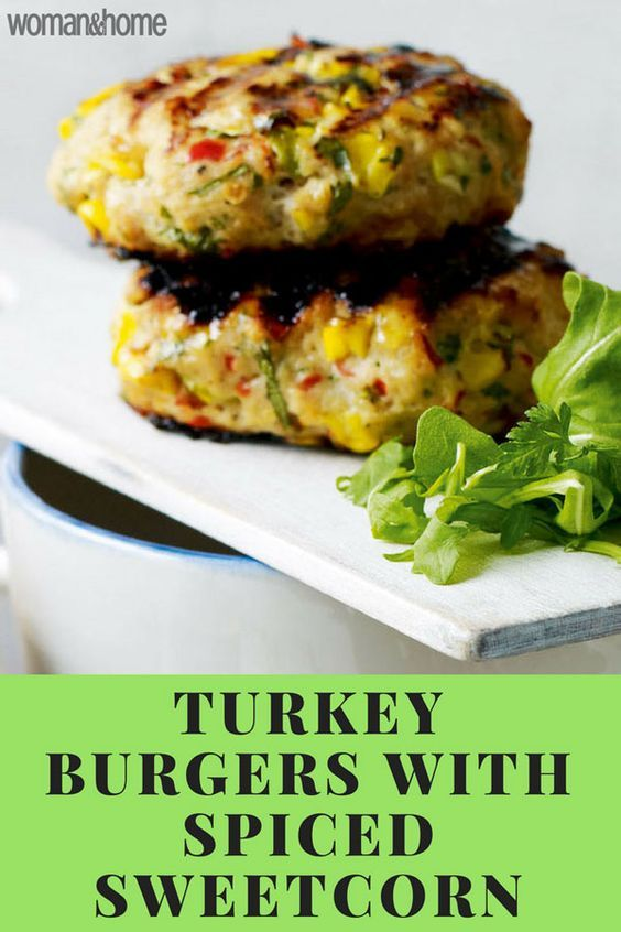 Spicy Sweetcorn and Turkey Burger | Recipe | Spicy turkey ...