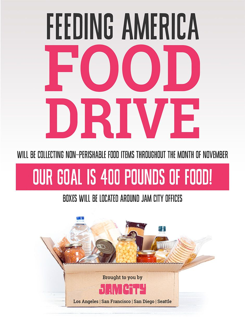 Can Food Drive Flyer in 2020 Food drive flyer, Canned