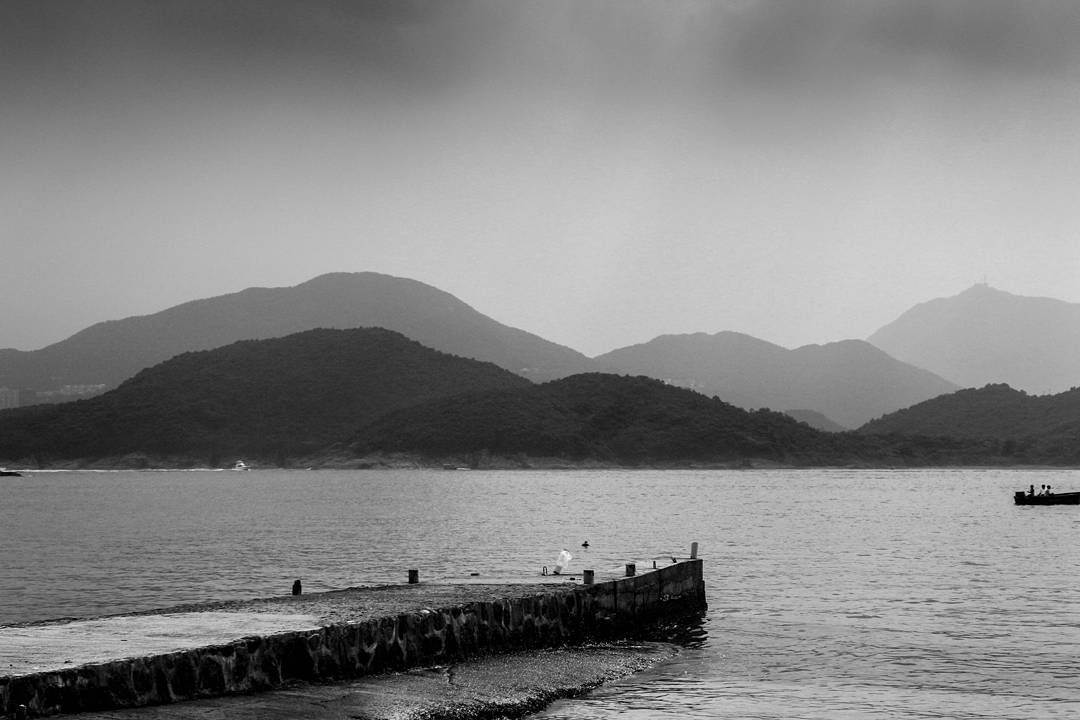 All its missing is someone diving off the pier into the sea.  #blackandwhite #hkig #depth  #travel #photooftheday #backpacking #travelers #photography #beautiful #adventures #explore #wanderlust #amazing #likes #instadaily #travelphotography #bestoftheday #igers #instatravel #fun #nice #pics #life #instacool #colorful #hot #pretty