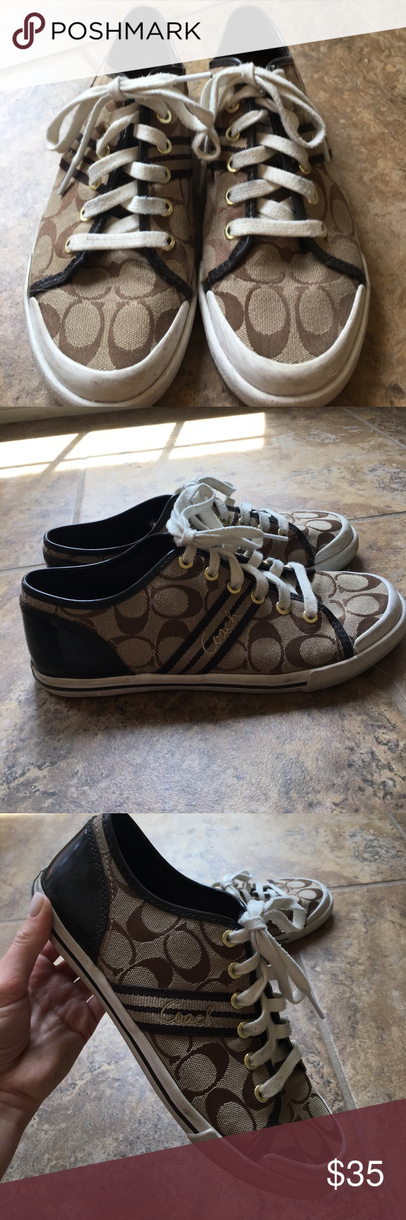 Coach Converse Style sneakers