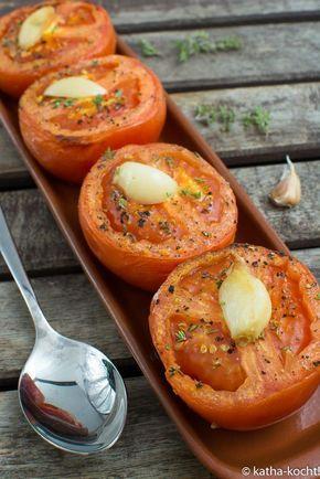 Photo of Tapas – baked garlic tomatoes – Katha cooks!