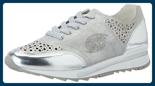 Dockers By Gerli Damen 40cr201 686550 Sneaker Silber Silber 550 41 Eu Sneakers Fur Frauen Partner Link