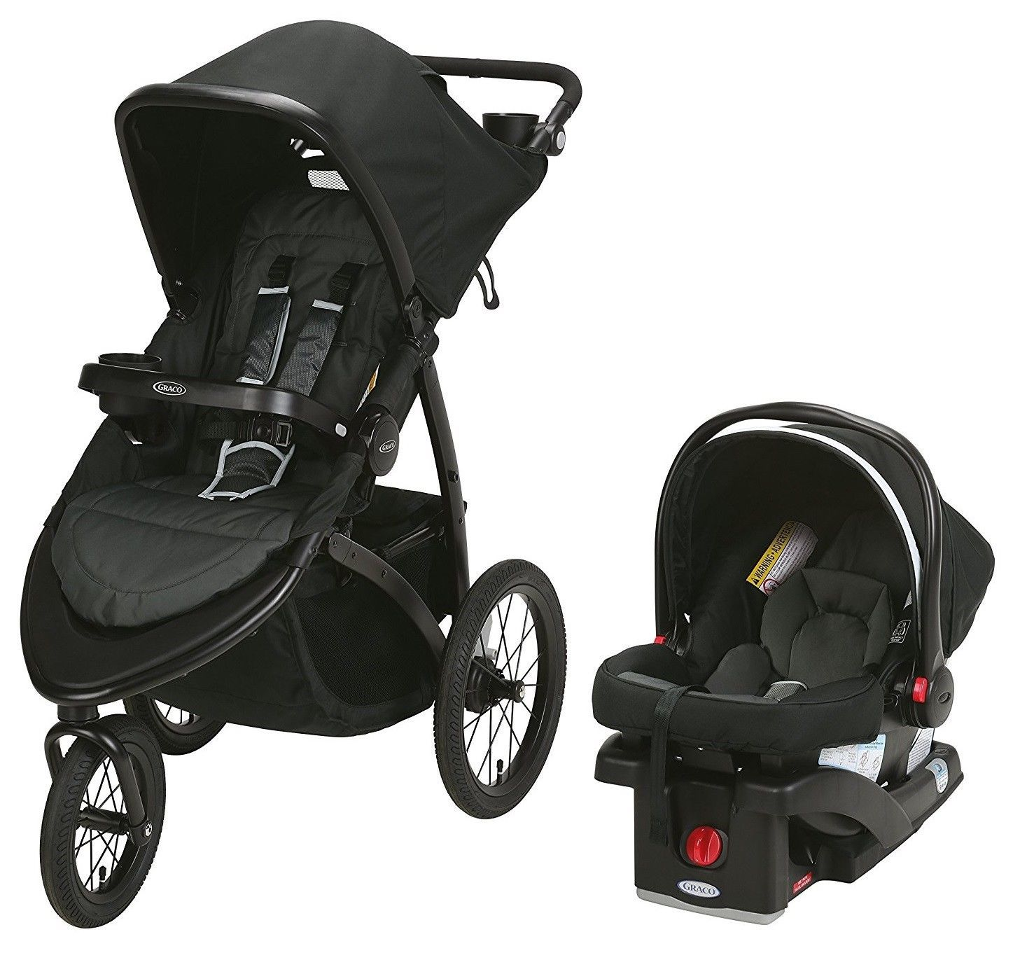 Graco Baby RoadMaster Jogger Travel System Stroller w