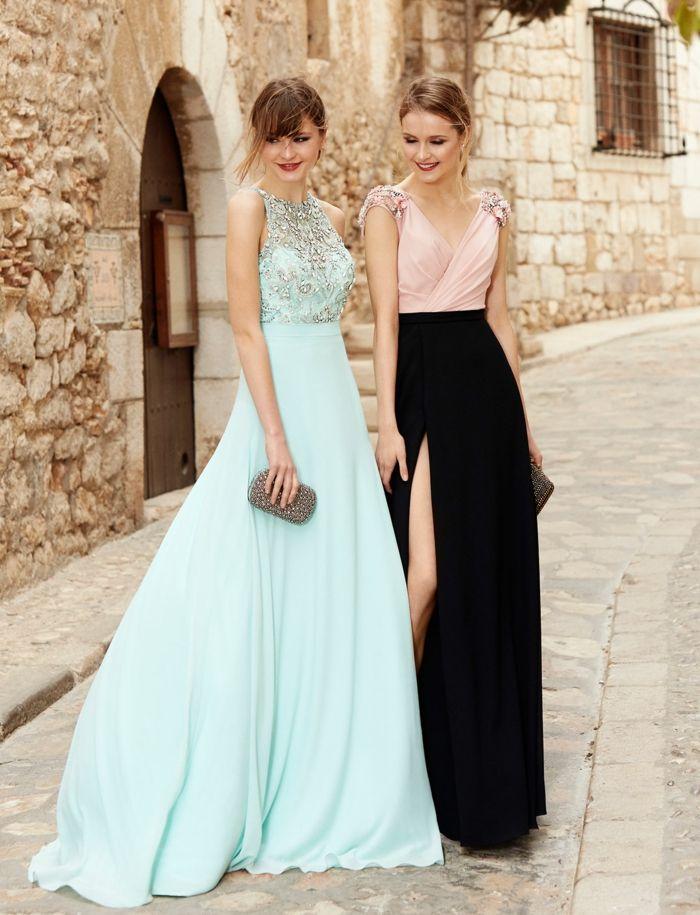 Vestidos largos para invitadas de bodas