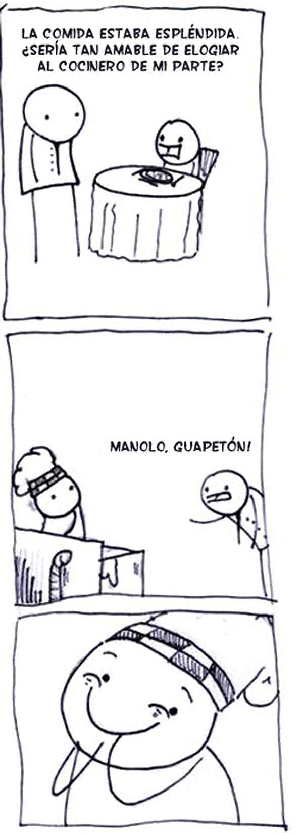Elogiar Al Cocinero De Mi Parte Laugh Funny Funny Pictures