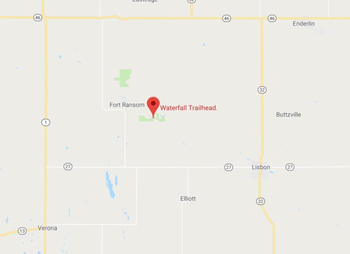 The Secret Waterfall In North Dakota That Most People Don T Know About North Dakota Natural Waterfalls Dakota
